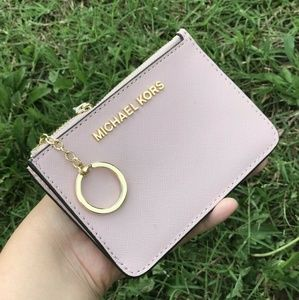 Michael Kors Coin Pouch Wallet ID Case Key Chain